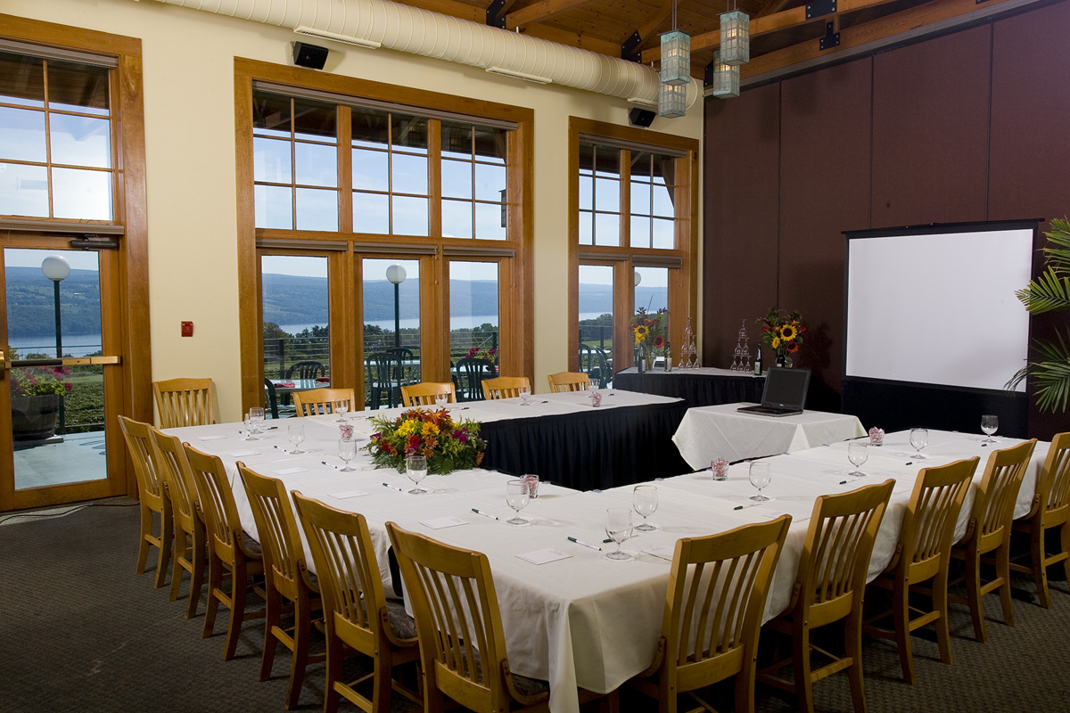 The Riesling Room Is Surrounded By Our Beautiful Vineyards And Has A Glass Door Leading Outside To Amazing Terrace 24 X 30