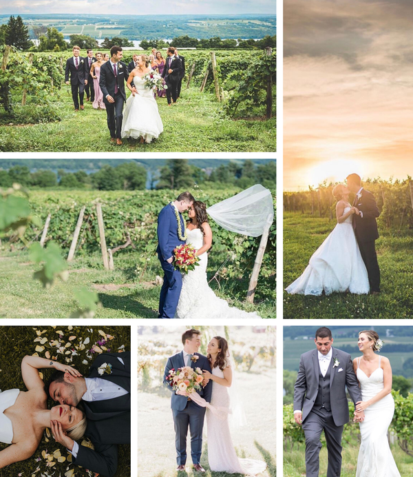 Finger Lakes Weddings at Glenora Wine Cellars