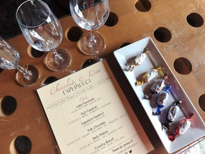Chocolate & Wine Experience at Glenora Wine Cellars