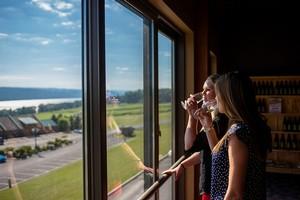 Tasting Room View - Glenora Wine Cellars