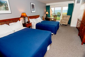 Vintner's Guestroom - Inn at Glenora Wine Cellars - Seneca Lake Lodging