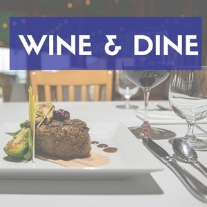 Wine & Dine Package at Glenora Wine Cellars
