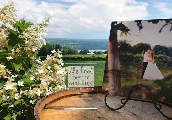 Next & Finger Lakes Winery Weddings and Reception Venue - Glenora Wine Cellars